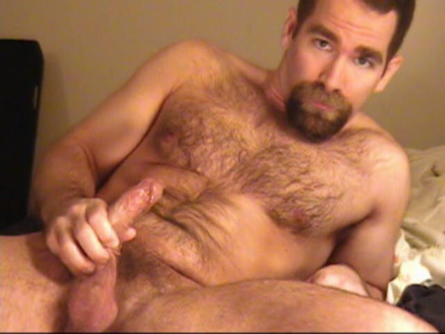 Hairy Muscle Bear Stud John X Gets His Cock Ready For You To Ride!